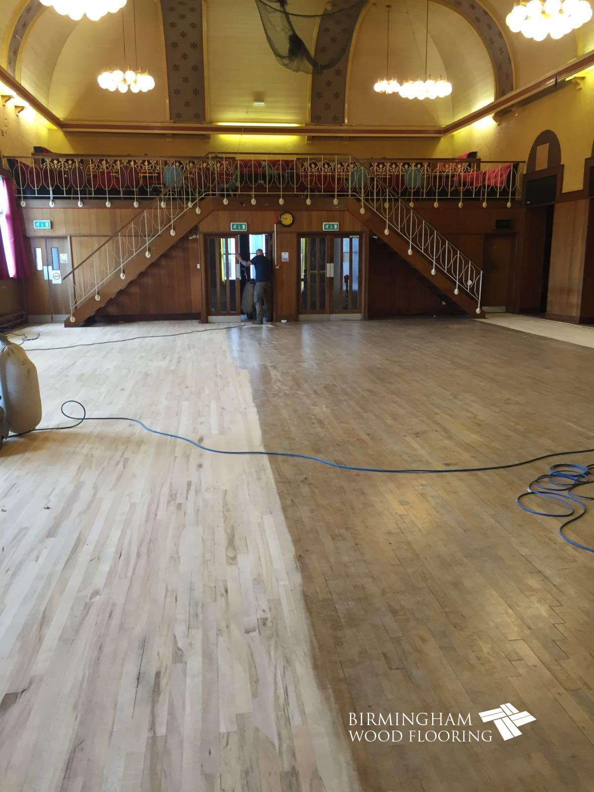 Anstice-Club-Sanding-existing-finish-off