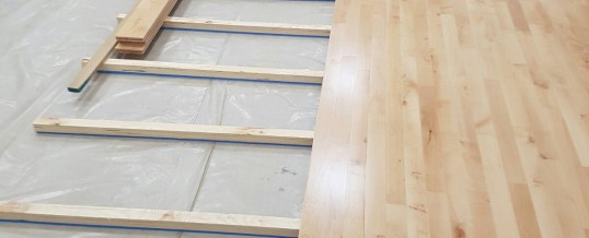 Junckers Floor Installation – Edgbaston, Birmingham