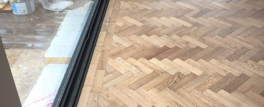 Engineered parquet floor – Leamington Spa