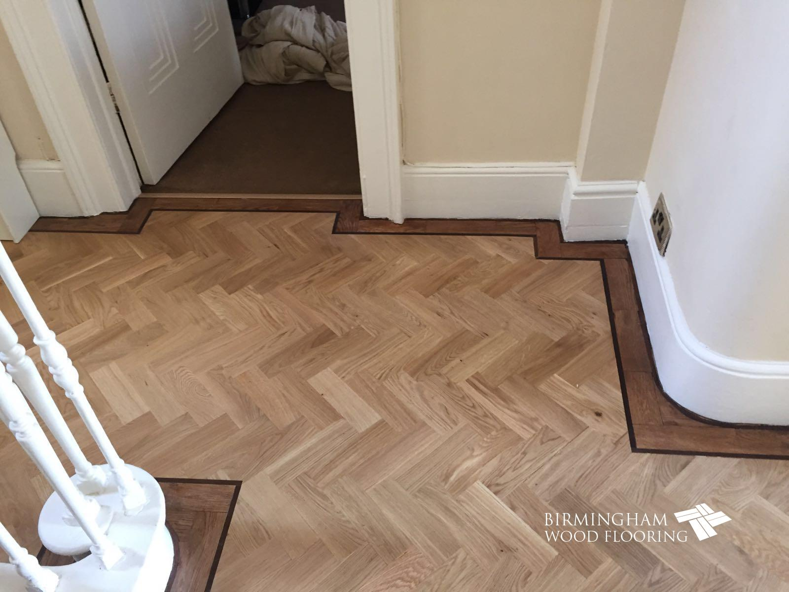 Parquet-floor-with-Wenge-Feature-strip-installed-with-order-stained-medium-oak-4