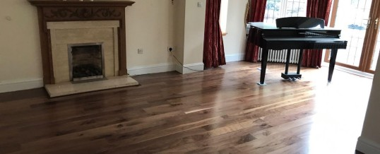 Oak & Walnut Engineered Flooring, Harborne Birmingham