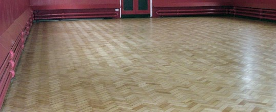 School Floor Sanding – Restoration of parquet flooring, Edgbaston