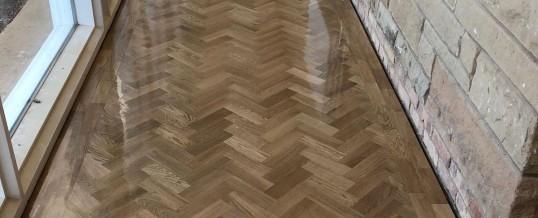 Oak Parquet Flooring –  Arley House