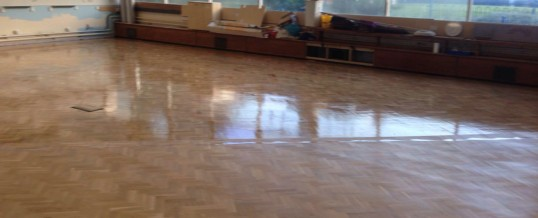 School Parquet Floor Installation –  Chivenor School, Castle Vale