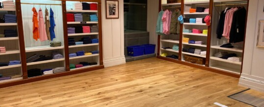 Installation of Boen Engineered Flooring – London