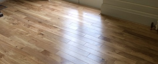Birmingham University – 90mm Solid Oak Prefinished flooring