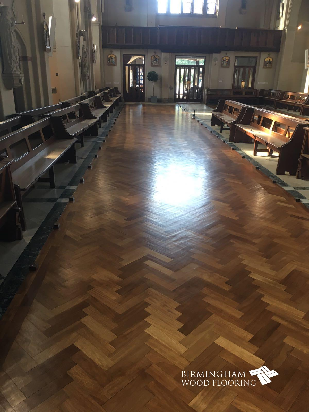 Olton Friary Wood Floor Restoration