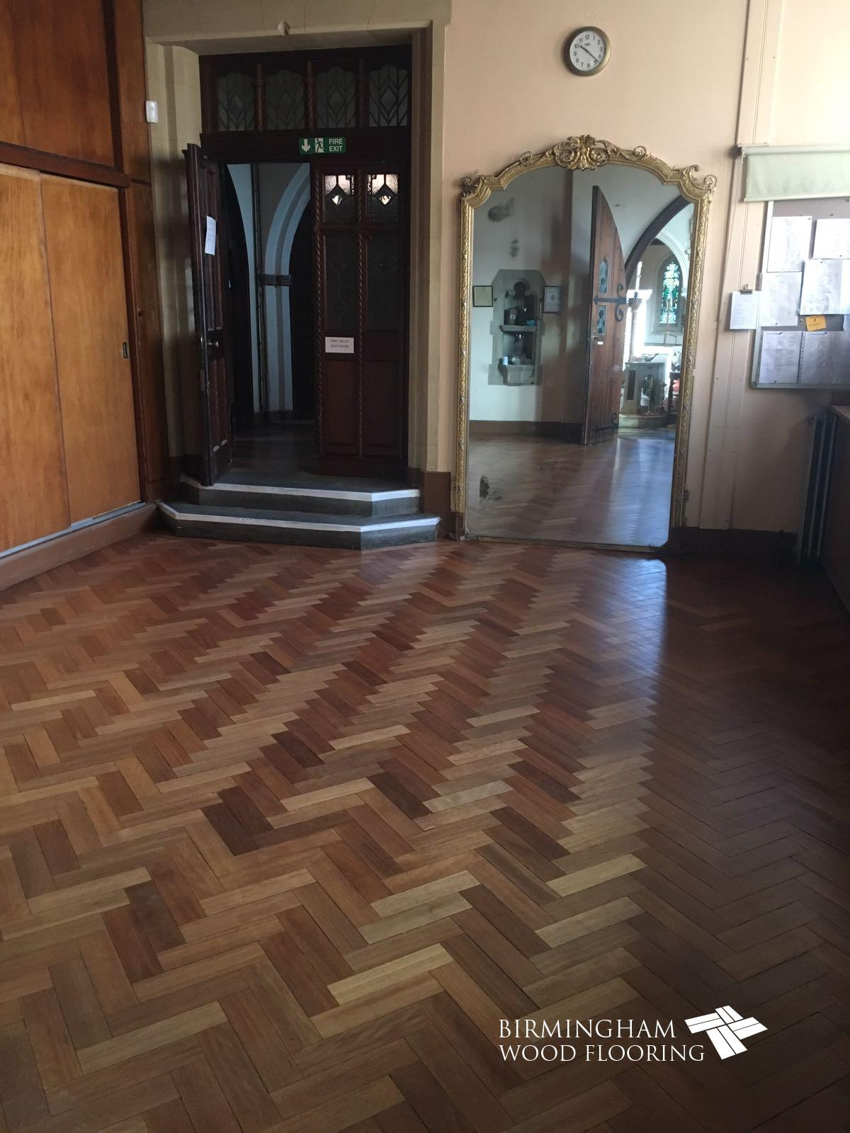 Wood Floor restoration, Solihull, Birmingham