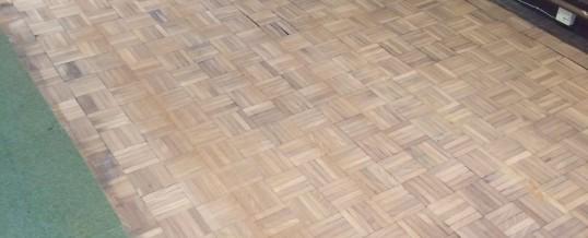 Mosaic Finger Block Floor Repair – Ambergate, Derbyshire