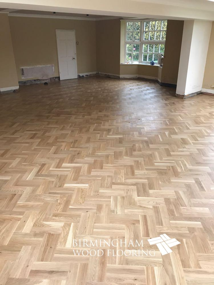 Double Herringbone Parquet flooring